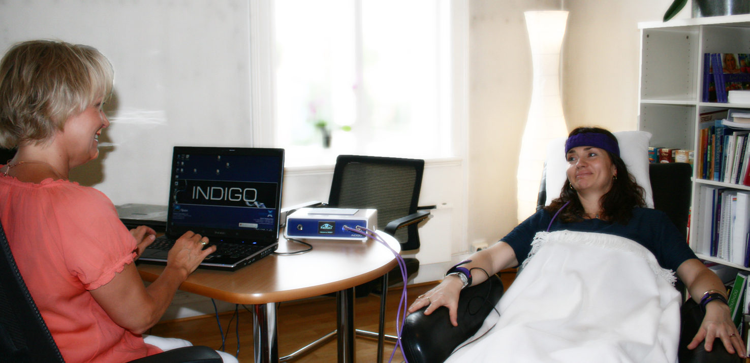 Kvantemedisin Biofeedback session
