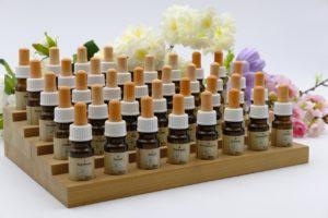 En kasse med alle Dr Bchs blomsteressenser
